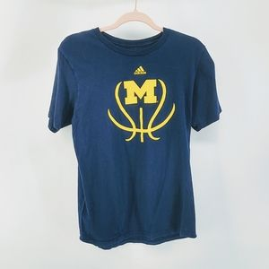 Adidas Michigan Wolverines Football Tee